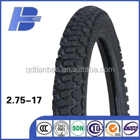 New pattern cross country tyre/ 2.75-17 motorbike tyre / motorcycle tire