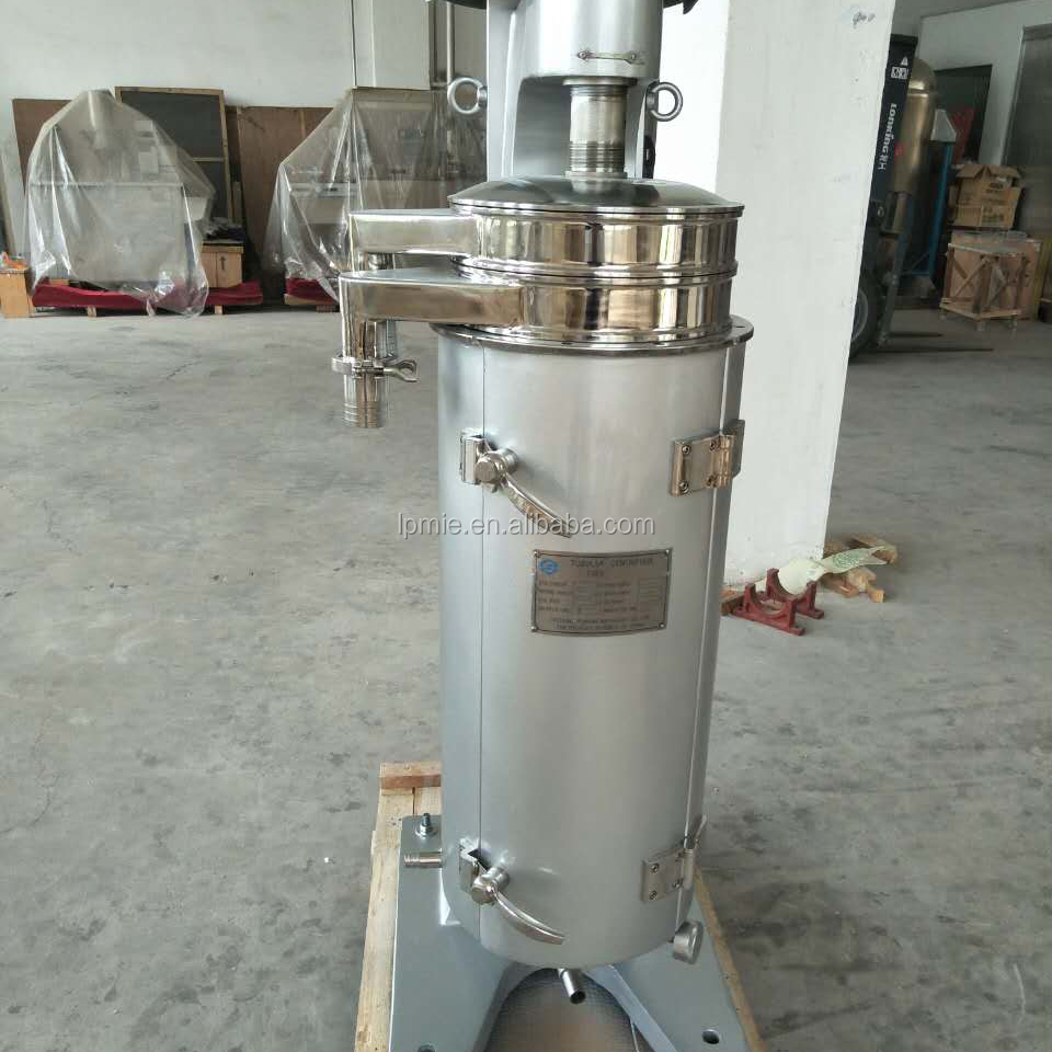 High quality High Speed GQ/GF Tubular Centrifuge for liquid-liqid-solid separation