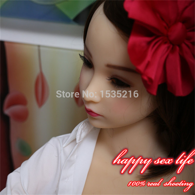 N00086,Little Young Girl Silicone Love Doll Sex Toy TPE Sex Doll for Men Adult Oral Vagina Anal Product