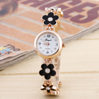 online shopping professional watches manufacturer custom new ladies watch with flower A clover bracelet watches
