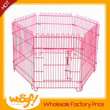 Hot selling pet dog products high quality folding metal dog fence