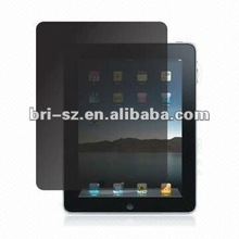 two ways new privacy screen protector for new ipad(no line and 35degree privacy angle