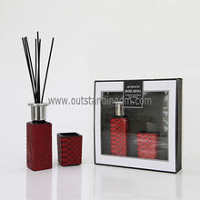 New product in china aroma Fragrance Scented Perfume Reed Diffuser And Box