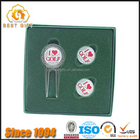 high end package box businessmen gifts golf divot repair mark tool