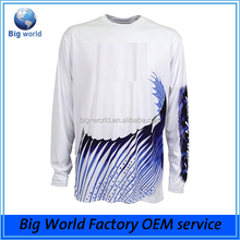 2017 factory OEM service Dri Fit upf 50 fishing design your own tournament fishing shirt With High Performance