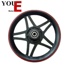 YOUE black and red five stars aluminium alloy bicycles wheels 12 inch