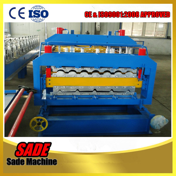 New Type Double layer Trapezoidal &Glazed Tile Making Machine