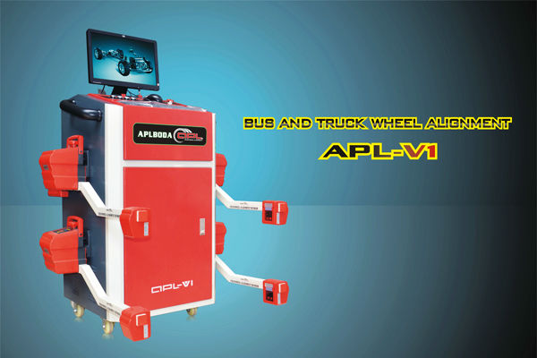 APL-V1 HOT!! Truck And Bus Wheel Alignment equipment , latest bluetooth graphic truck equipment wheel alignment