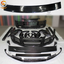 Supply Carbon Fiber and Fiberglass PPI Style Wide Car Body Kit For Au-di R8 2007-2014