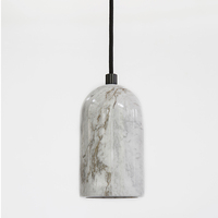 Modern Hotel decorative items delicate Marble lamp hanging lighting
