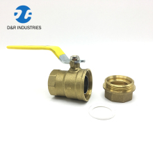 High pressure union ball valve rubber ball inflation long stem ball valve