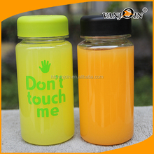 BPA Free Plastic 350ml Drinking Bottle for Fruit Juice Package