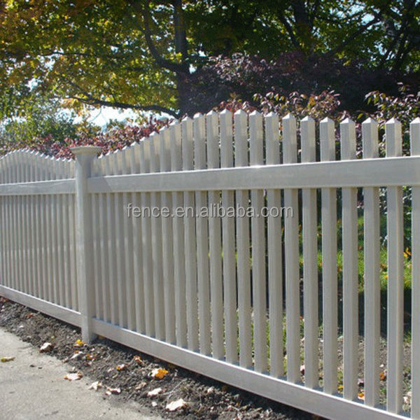 vinyl plastics flower bed fencing
