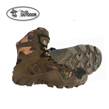 Lace Up Breathable Desert Hiking Boots Army Military Boots Tactical Combat Boots