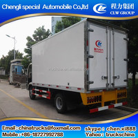 Best quality durable foton mini refrigerated van trucks