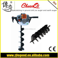 49cc earth hand auger electric earth auger drill bit