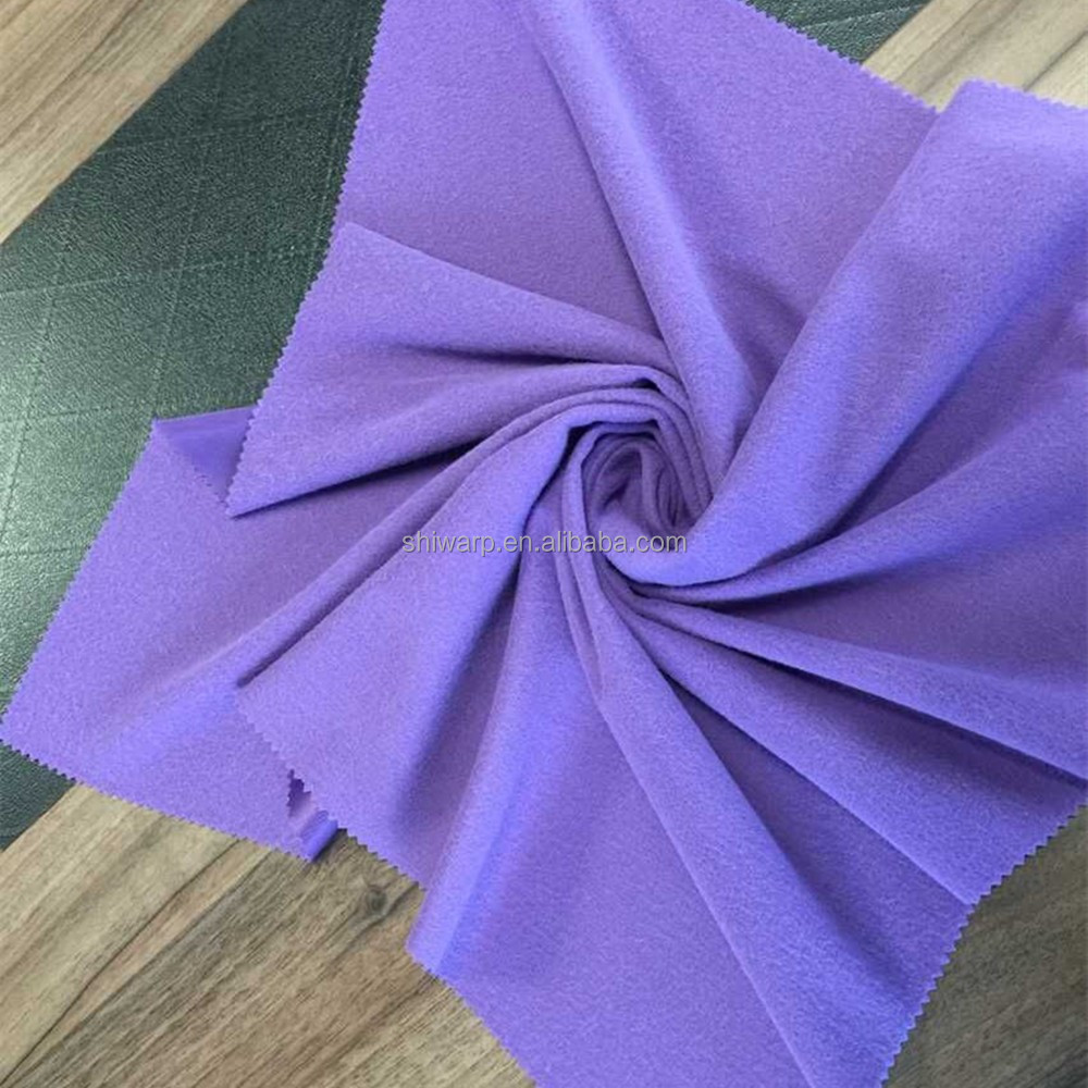 super poly waterproof fabric china textile factory wholesale 100% polyester material brushed fabric
