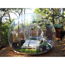 Hot Selling Outdoor PVC Camping Bubble Tent Inflatable Bubble House Clear Lawn Tent For Sale