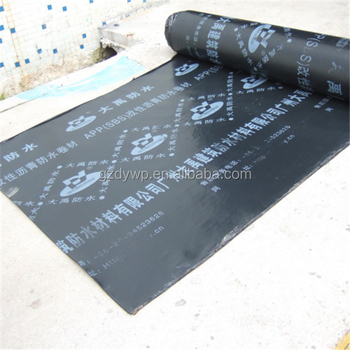 APP torch-on bitumen roofing membrane