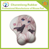3d big breast nude sexy girl mousepad with no watermark