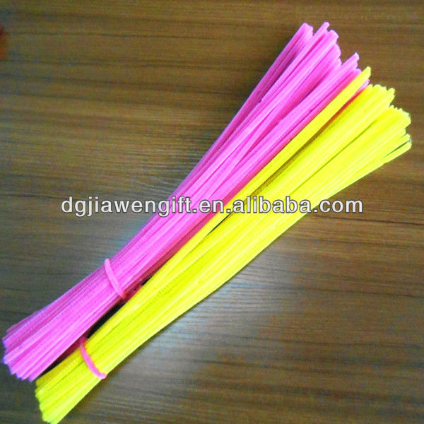 Free Sample Classic Craft Gift Toy Plush 30cm Assorted Chenille Stems(Pipe Cleaners) For Activity Packs