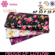 fashion flower lady wallet