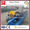 Automatic hydraulic cutting down pipe system making machine with elbow