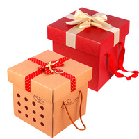 Corrugated chocolate paper gift box packaging