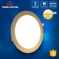 Super Bright 2835 LED Light Frameless Ultra Bright Round Led Panel
