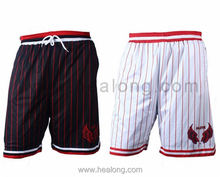 China Factory Custom Sublimation International European Youth Basketball Shorts Wholesale Design
