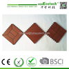 Hot Sale WPC Plastic Composite Panel Swimming Pool Outdoor Floorings Tiles wpc decking tile