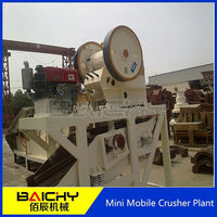 2014 Strongly Recommended stone production line/Mini Mobile Crushing