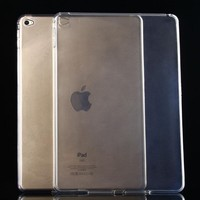 Ultra Thin Crystal Soft TPU Transparent Clear Case For iPad Air 2