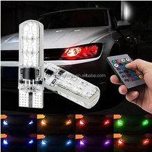 Sanyou Popular 5050 SMD t10 rgb led car light for Car Interior Lights for car Panel Dome Map Side Marker Door Court