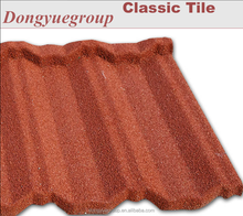 Waterproof and heat resistence roof tiles/interlocking roof tiles/stone coated metal roof sheet