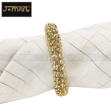 2018 Bulk Wholesale Table Rhinestone Rose Gold Napkin Ring