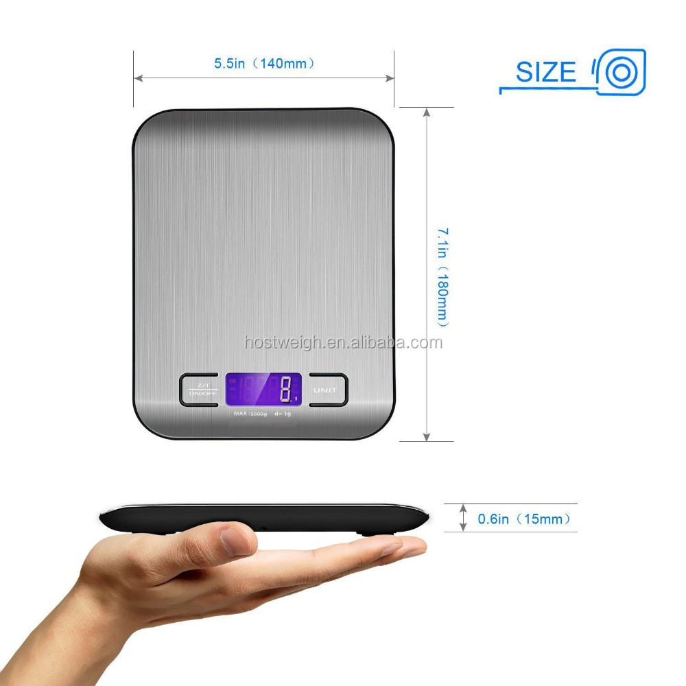 Household Electronic Consumer Jinhua Digital Electronic Multifunction Kitchen Food Scale
