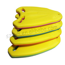eco-friendly hot summer swimming eva foam float kickboard for kids / colorful eva board