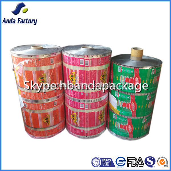 bread plastic film automatic packing cake package roll film