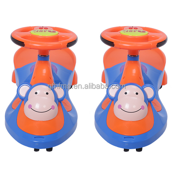 Saleable PP Material New Type Kids Toys Ride On Swing Car
