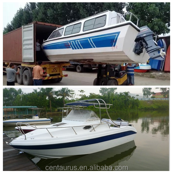 Best price fiberglass small boat with fast delivery