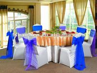 2012 new organza chair sash YC-3