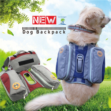 Lovoyager Pet accessories waterproof nylon pet backpack harness dog saddle bag for hiking