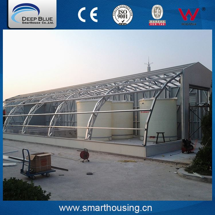 High quality low cost prefabricated light steel frame house