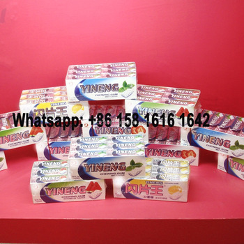 Hot sell 5 stick Fruity Flavors Europe Chewing Gum manufacturer