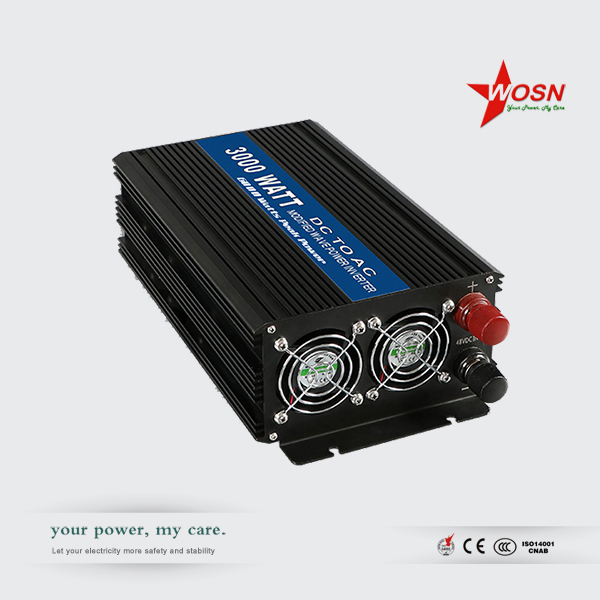 3000W inverter DC 12V to AC 220V for solar power system solar panel charge