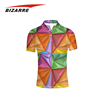 3D full sublimation men polo shirts manufacturers