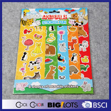 customize cartoon stickers printing