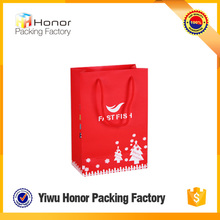 Top Selling Products 2016 Custom Red Boutique Paper Bag Packaging & Printing