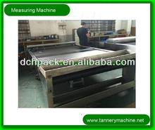 vertical measuring instrument for leather
